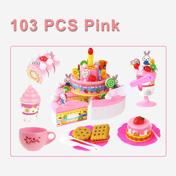 Color:103PCS PINK