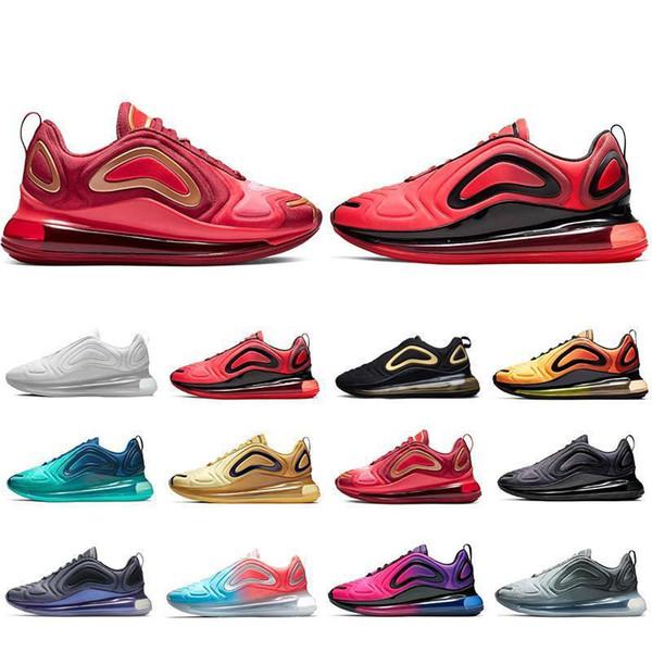 Yüksek Kaliteli Erkek Eğitmenler Günbatımı Deniz Orman Sunrise Pembe Deniz Koşu Ayakkabıları Erkekler Kadınlar Garbon Gri Takım Crimson Tasarımcı Spor Sneakers