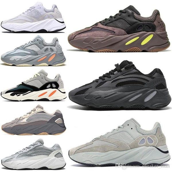 Erkek 700 Analog Vanta 3M V2 Atalet Statik Leylak Ayakkabı Kanye West Dalga Runner Atletik Spor Eğitmenler Spor ayakkabılar Kadınlar Açık Koşu Ayakkabı