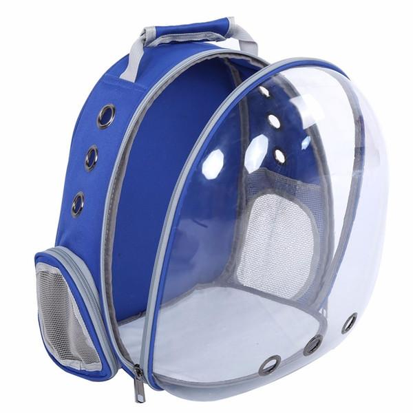 Impermeable Pet Cat Mochila Pet Dog Bag Carrier Bubble Espacio grande Pet Carrier Backpack para gato y perro pequeño bolso al aire libre Y19061901