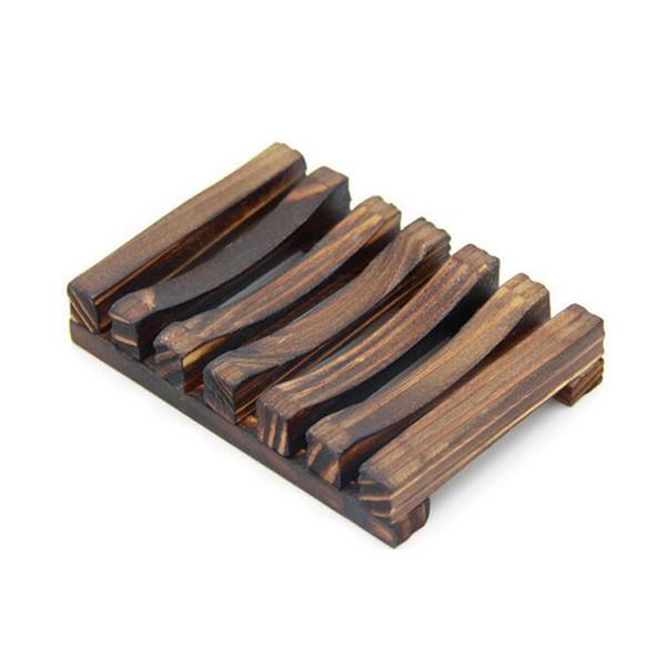 Porte-savon en bois Vintage Porte-plateau en bois pour porte-savon pour salle de bain