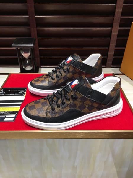 Zapatillas de exterior de diseño para hombre de lujo de la nueva moda 2019j, zapatos casuales de moda callejera, tamaño 38-45