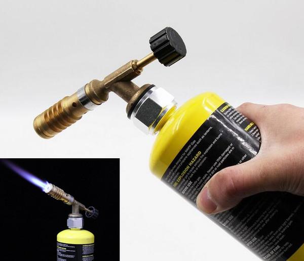 Медная алюминиевая газовая горелка Mapp 135x45x25mm для пайки припоя пропановая сварка сантехника газовая горелка сварка пайка