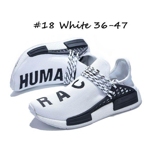 #18 White 36-47