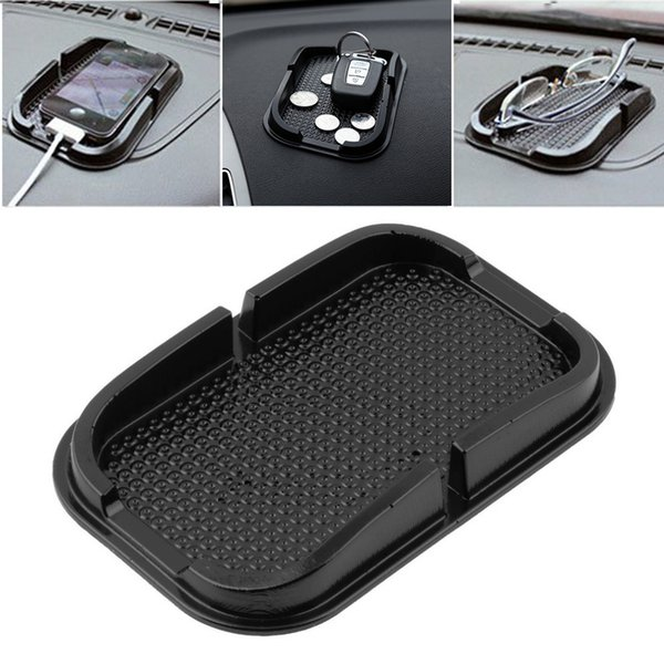 Universal In Car Auto Interior Accessoies Stuff Floor Phone Gadget Mats Carpet Non Slip Grip Pad GPS Holder Mat Anti-skid