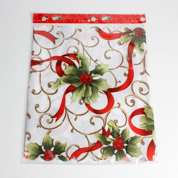 Christmas Table Runner Santa Claus Tablecloth Banquet Party Dinning Table Flag Christmas Decorations For Home Cloths Cover