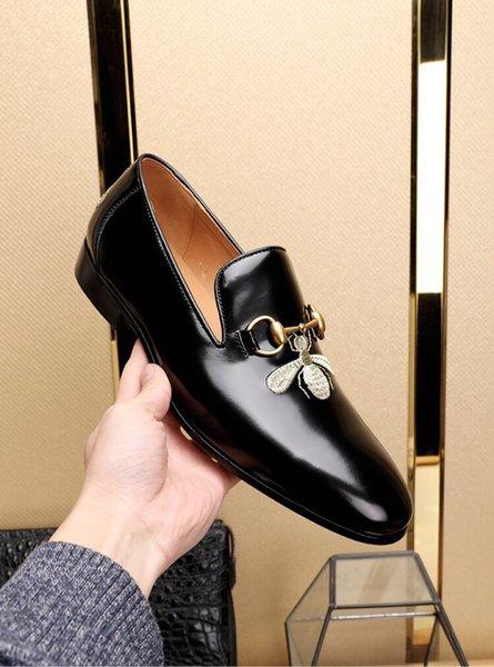 Mix 20 modelli scarpe da sera in pelle designer italiano Top in pelle scarpe uomo festaioli in pelle scamosciata moda scarpe tacco alto taglia 38-44