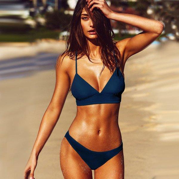 blue sexy bikini