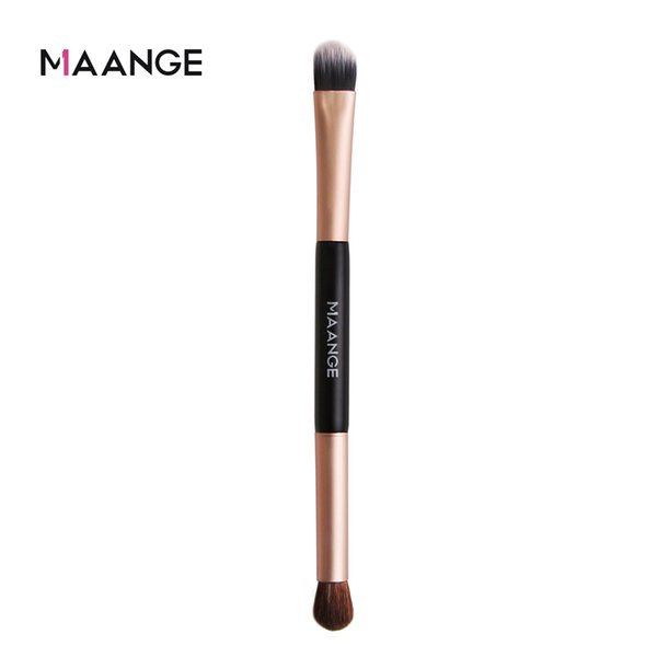 Double head single brush eye shadow high light contour and blush brush
