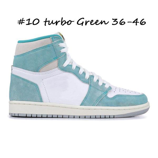 #10 turbo Green 36-46