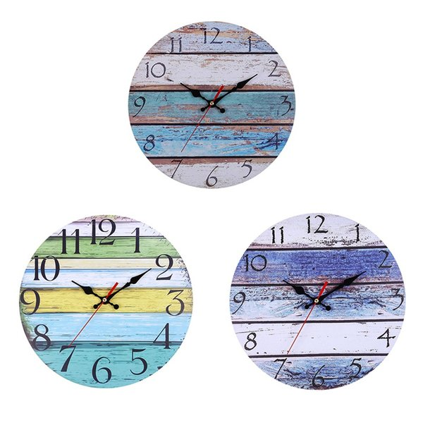 30cm Modern Stereo Number Clock Non Ticking Mute Wall Clock Home Decor