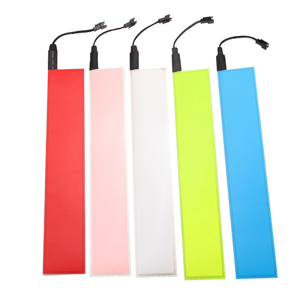 premium selection 2679d cd320 2019 30x5cm 12V Flexible EL Light Panel Electroluminescent Back Light Strip  Lamp With Inverter For Home Car Party From Zhongfucar, $12.03   DHgate.Com