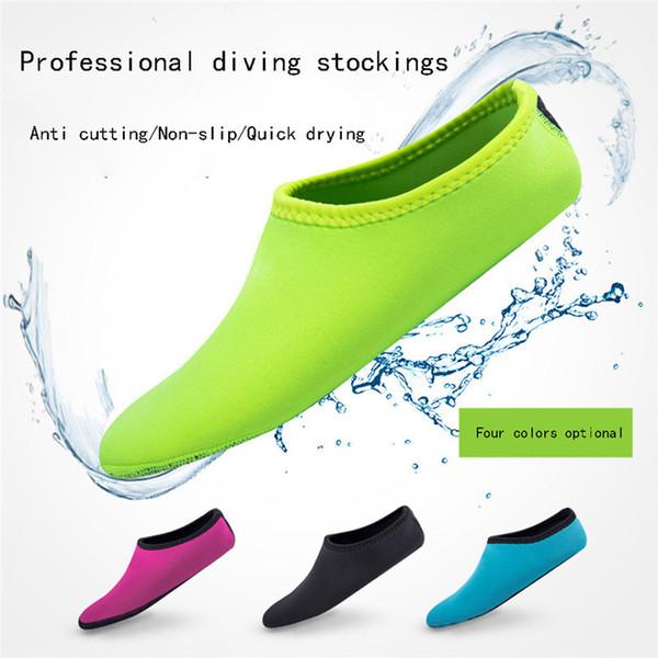 2019 NEUE Erwachsene Tauchstiefel Neopren Schwimmen Tauchen Socken Schnorcheln Surfen Neoprenanzug Wasserschuhe Stiefel Aqua Shoes # 4A24
