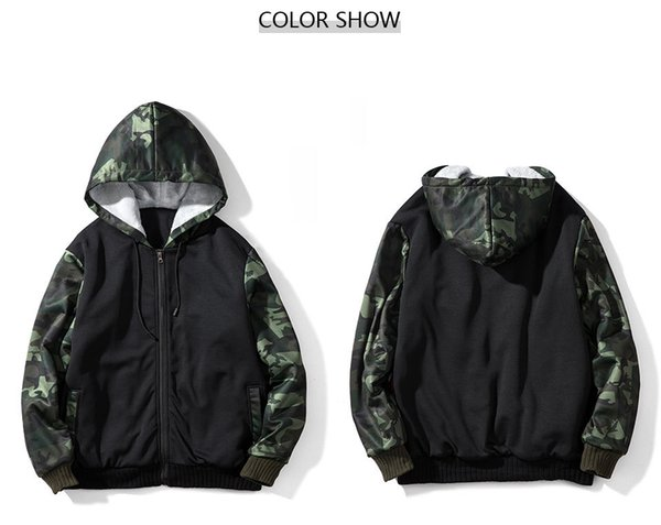 Winter Trend of Amazon Fleece and Thickened Mens Jackets