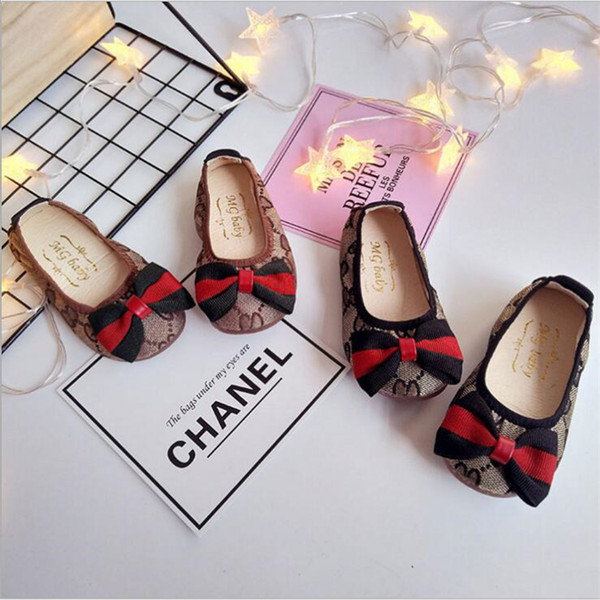New Arrival Spring and Autumn Baby Shoes Newborn Canvas Classic Sports Sneakers Anti-slip Bow Cute Infant Prewalkers Dance Shoes FJ266