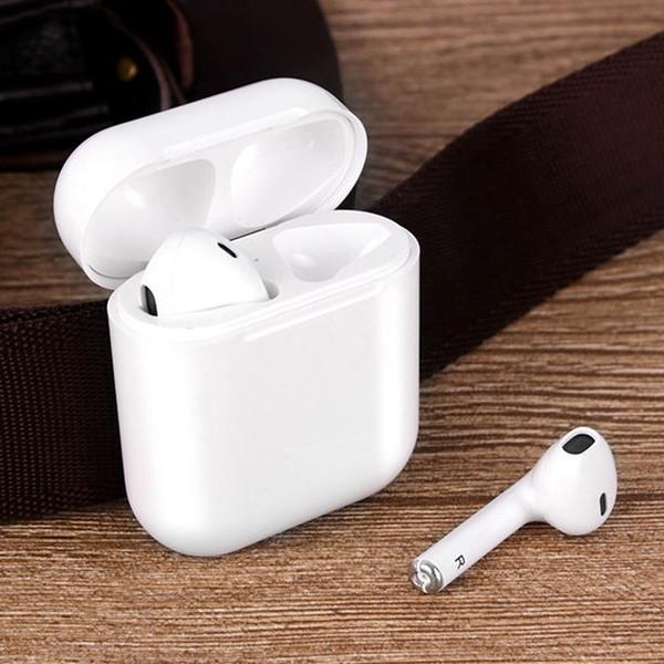 i9s tws Drahtlose Kopfhörer Ohrhörer 5.0 Bluetooth-Headset Sportkopfhörer Unsichtbarer Ohrhörer mit MIC-Geschenkhülle für alle Smartphone-PCs, I7s