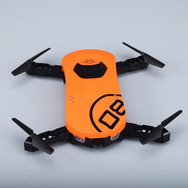 W606-8 RC Selfie Drone Dron 480P WiFi FPV Telecamera G-Sensor Mode Waypoint Controllo di gravità Elicotteri Elicotteri Giocattoli di controllo remoto