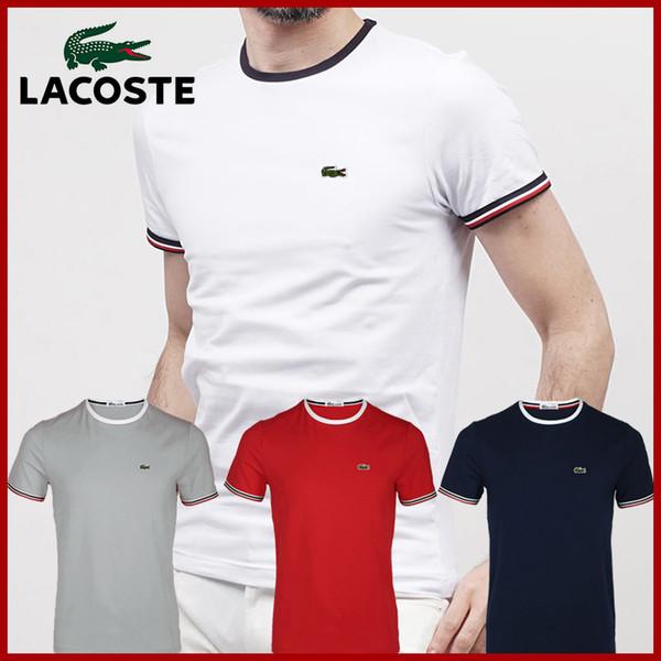Hot 2018 scontati Polo Shirt manica corta T shirt Brand London New York Chicago polo uomini economici di alta qualità Spedizione gratuita