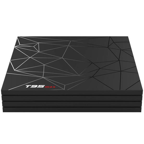 T95 Max Android9.0 TV Box 2GB 4GB DDR3 16GB 32GB 46GB Allwinner H6 EMMC 2.4G WiFi USB3.0 Support 4K H.265 HD Smart Set Top Media Player