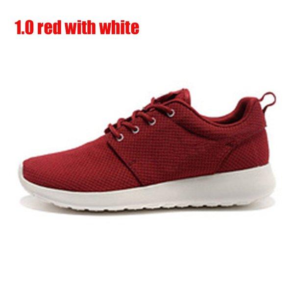 1.0 rojo con el símbolo blanco 36-45