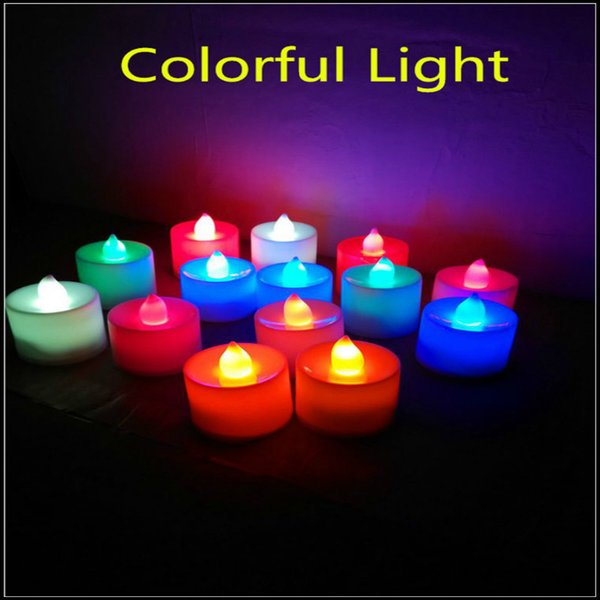 best selling 3.5*4.5 cm LED Tealight Tea Candles Flameless Light Battery Operated Wedding Birthday Party Christmas Decoration 30SET
