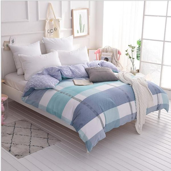 Heimtextilien Twin Queen-Size-Size-Bettbezug Bettdecke Bettdecke Schlafzimmer Quilt im Schlafzimmer