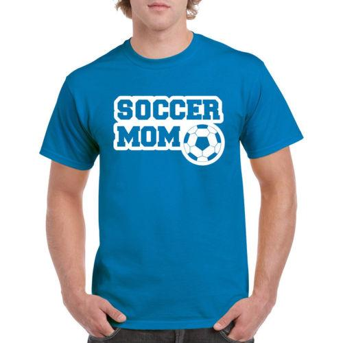 Soccer Mom Awesome Funny T shirt Exercise Football Mens Gym Vest Unisex Gift Funny free shipping Unisex Casual Tshirt