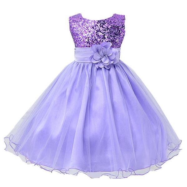 Compre 2019 Ropa Para Niñas Vestido De Verano Para Niñas Elegante Vestido De Princesa Fiesta Infantil Vestidos Para Niñas Ropa Para Niños 2 10 12 Años