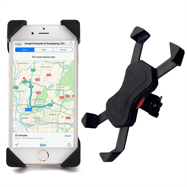 Hot New Universal Bicycle Phone Holde MTB Bike Manubrio Supporto per cellulare Supporto per bicicletta Portabiciclette Accessori per biciclette # 338324