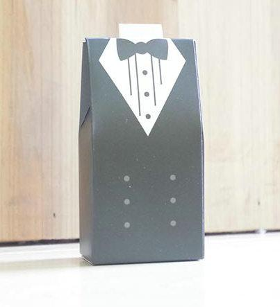 100pcs /50pairs New Arrival bride and groom box wedding boxes favour jewelry boxes gift box