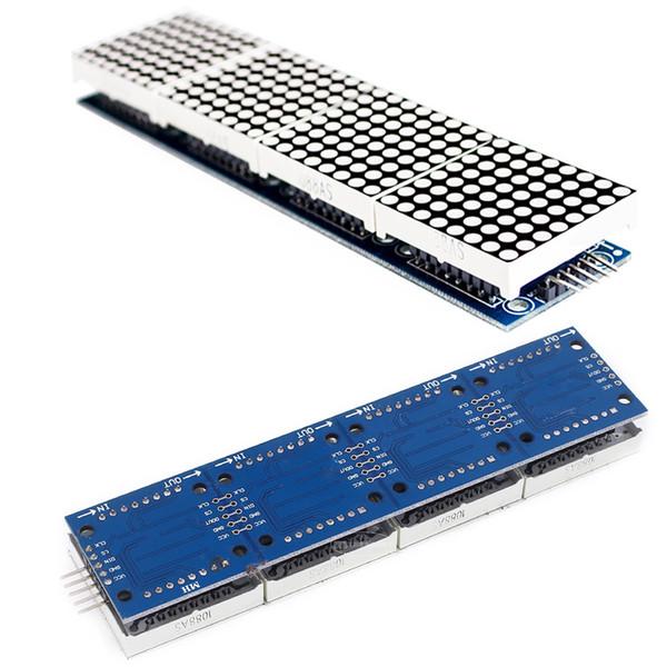 Compre Accesorios Para Arduino Módulo Dot Matrix Para Múltiples Módulos De Visualización Max7219 Microcontrolador Duradero Con 5p Línea A 39 31 Del