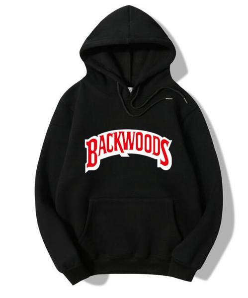 Tasarımcı Backwoods Hoodie Sonbahar Kış Yeni Hoodies Uzun Kollu Hip Hop Tasarımcı Erkekler Tişörtü Backwoods Erkek Hoodies Kazak