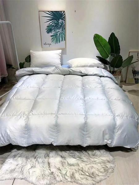 Klimaanlage Quilt Silber Duvet Pure Color Quilt-Qualitäts-Quilt Vertraglich für Herbst und Winter-Haushaltsgegenstände