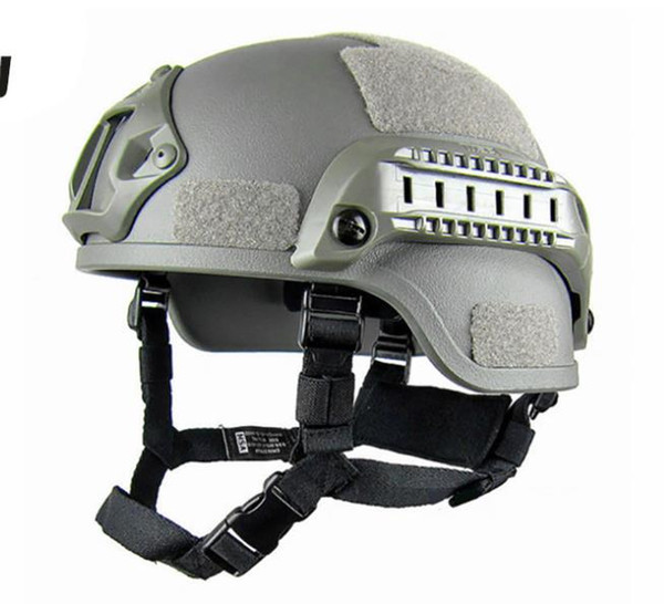 best selling Quality Lightweight FAST Helmet MICH2000 Airsoft MH Tactical Helmet Outdoor Tactical Painball CS SWAT Riding Protect Equipment Free Shipping
