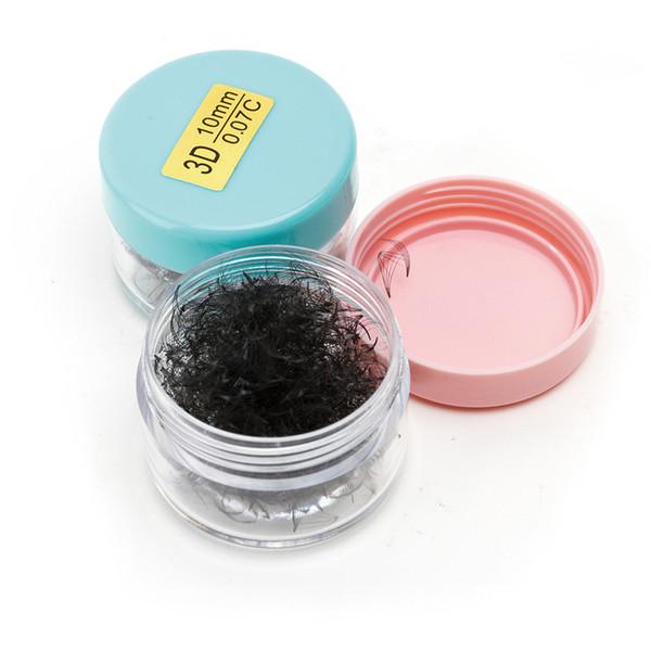 Wholesale Manufacturer Black Diamond No Glue Pre Made Fan Russian Volume Eyelash Extension Clusters Luxury Eyelash Packaging Box