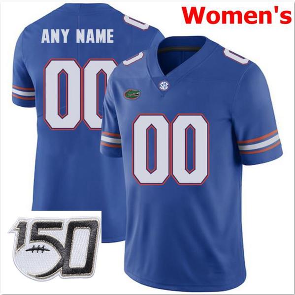 Женщины # 039, S Синий С 150-й патч