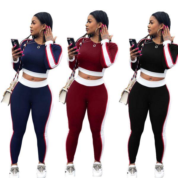 Woman Sportswear Sweatshirt + Long Pants Sweatpants Two-piece Set Long Sleeve Jogging Sport Suit for Ladies Tracksuit Sweatsuit S-3XL