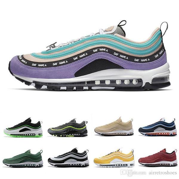 A Have Nice Day Men Women Running Shoes Bio Beige Midnight Navy Dallas Laser Orange Neon Seoul Mens Sporst Trainer Outdoor Sneakers 36-45