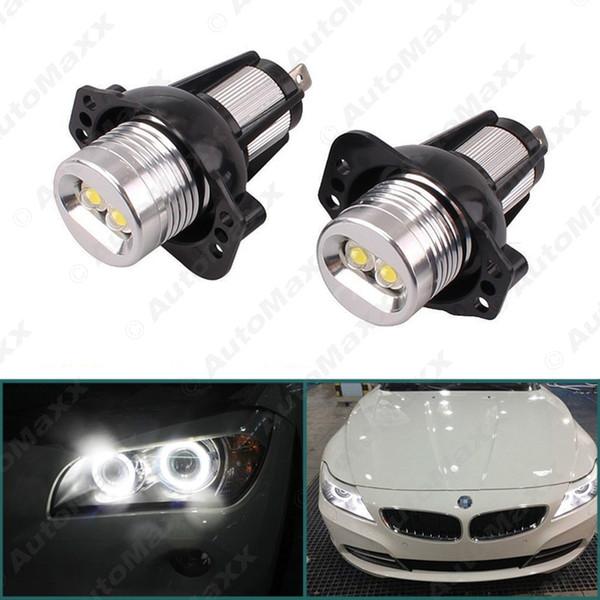2pcs 6W LED de Halo anillo marcador para BMW E90 Pre-cirugía estética Sedan / E91 Pre-cirugía estética 325i Touring / 328i / 335i / 335xi # 5366