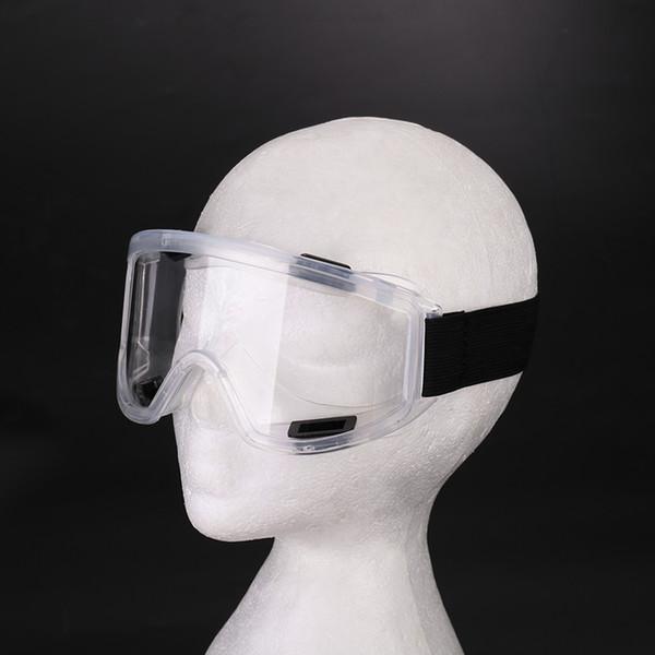 Koruyucu Gözlükler Gözlükler Darbeye Dayanıklı Polikarbonat Güvenlik Bisiklete binme Toz Geçirmez