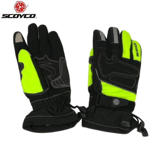 gloves scoyco Motorcycle Winter Gloves Scoyco M-30 Guantes motocross luvas Sports Warm men and Women Riding Reflective Warm Glove