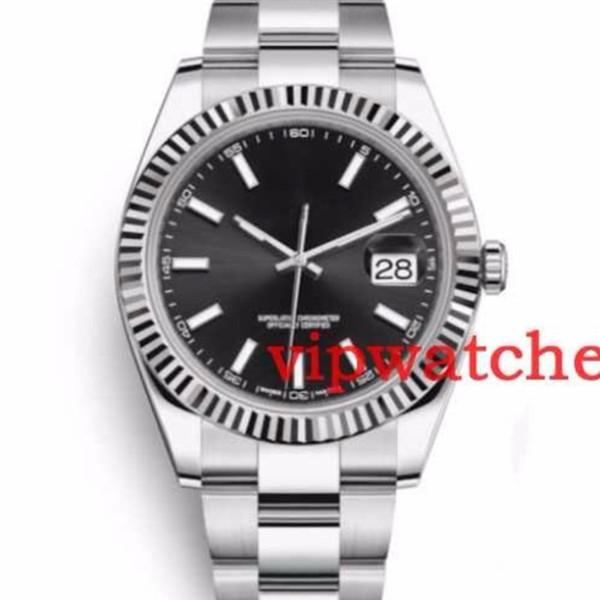 Hot Mens Data Produto 41mm Novo Relógio de Aço Mecânico Automático Para O Relógio De Diamante Venda Livre relógios Relógios de Pulso