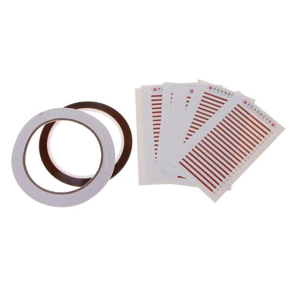 Individual Eyelash Extension Hand Plate Holder Strip Palette Adhesive Tap Set