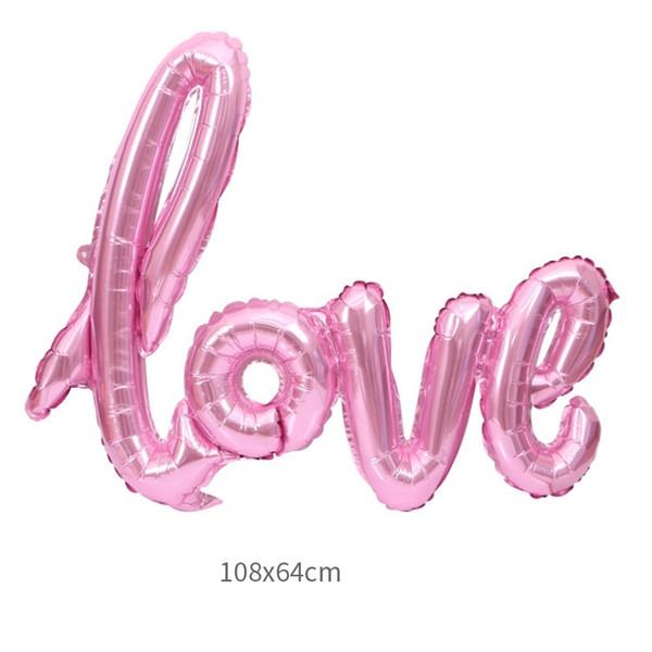 108 * 64cm rosa