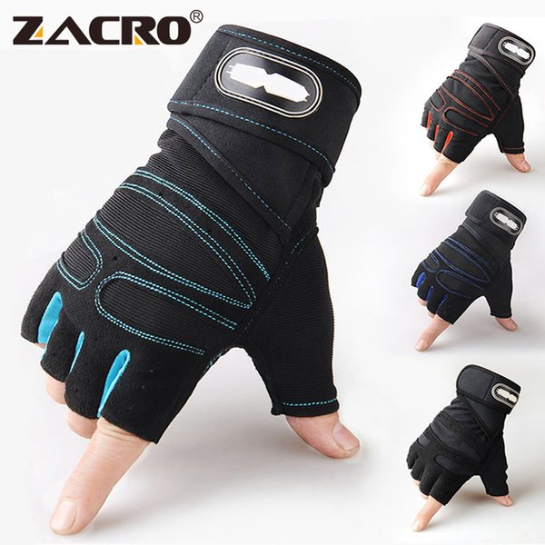 Zacro Gym Gloves Fitness Weight Lifting Gloves Body Building Training Sports Exercise Sport Workout Glove For Men Women M/l/xl C19022301