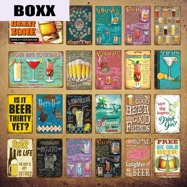 home decor bathroom signs.htm 2020 love beer zone party decor whiskey rum brandy lounge metal  party decor whiskey rum brandy lounge