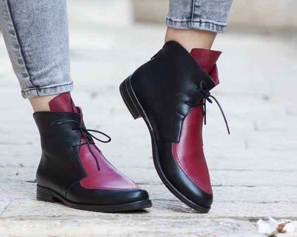 Kırmızı Kadınlar Boots