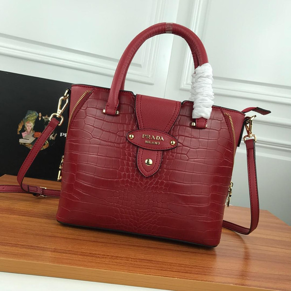 freeshipping 2019 new style genuine leather women's bag ,handbag , tote 23000