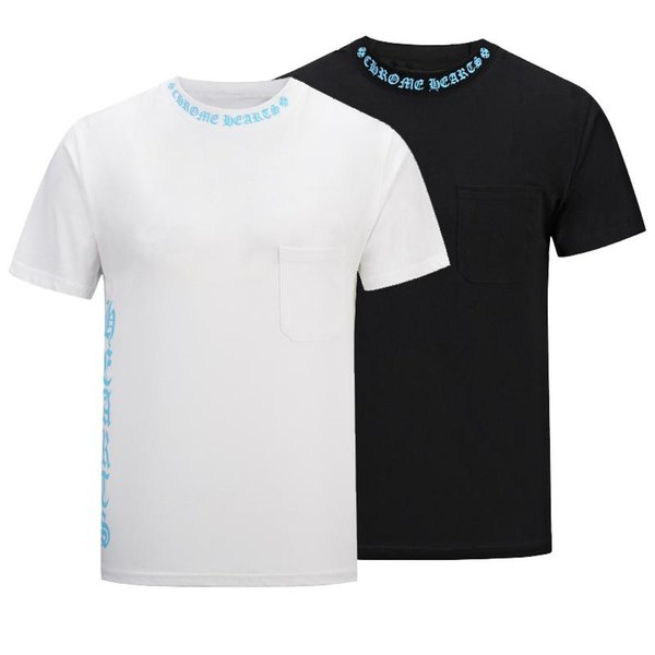 Summer Fashion Wear Men Medusa Letter Printed T-Shirt Hot Sale Crew Neck Short Sleeves Pure color Top Man 100% Cotton