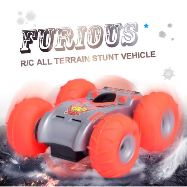 RC Car 2.4Ghz 4CH Stunt RC Car Remote Control Off Road Electric Race Double Sided 360 Degree RTR toys for children Gifts